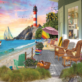CharlesSimpson.com Beach Vacation - 1000 Piece Jigsaw Puzzle