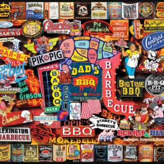 CharlesSimpson.com Barbeque - 1000 Piece Jigsaw Puzzle