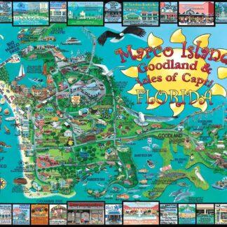 CharlesSimpson.com Marco Island, FL - 1000 Piece Jigsaw Puzzle