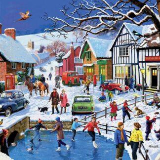 CharlesSimpson.com Festive Village - 1000 Piece Jigsaw Puzzle