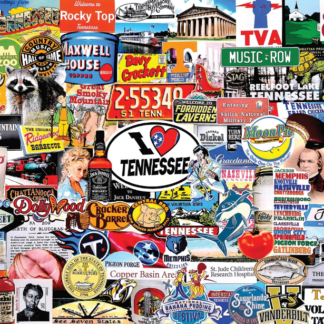 CharlesSimpson.com I Love Tennessee - 1000 Piece Jigsaw Puzzle