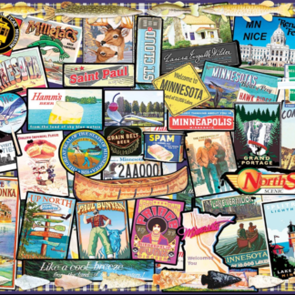 CharlesSimpson.com I Love Minnesota - 1000 Piece Jigsaw Puzzle