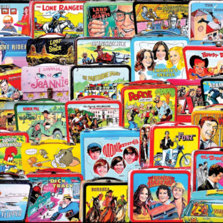 CharlesSimpson.com TV Lunch Boxes - 1000 Piece Jigsaw Puzzle