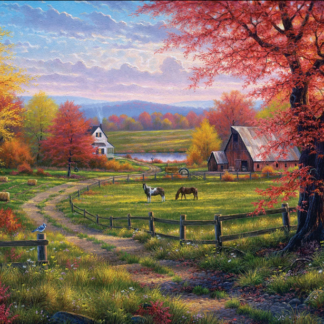 CharlesSimpson.com Peaceful Tranquility - 1000 Piece Jigsaw Puzzle