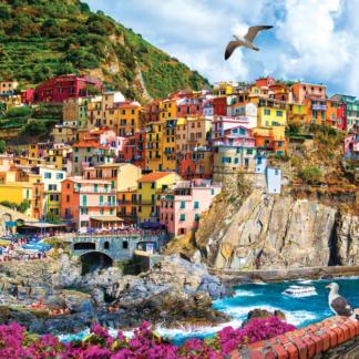 CharlesSimpson.com Cinque Terre, Italy - 1000 Piece Jigsaw Puzzle