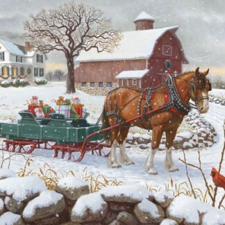 CharlesSimpson.com Christmas Delivery - 1000 Piece Jigsaw Puzzle