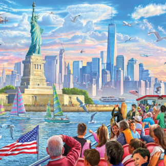 CharlesSimpson.com Statue of Liberty - 1000 Piece Jigsaw Puzzle