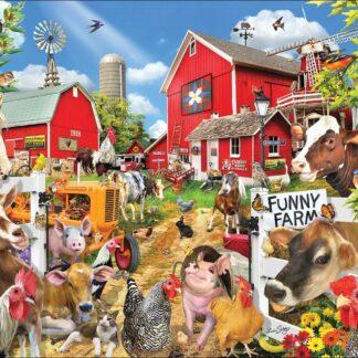 CharlesSimpson.com Funny Farm Seek & Find - 1000 Piece Jigsaw Puzzle