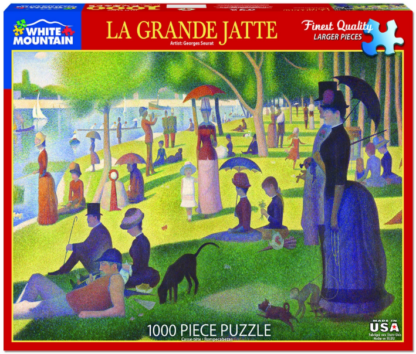 CharlesSimpson.com La Grande Jatte - 1000 Piece Jigsaw Puzzle