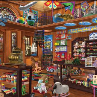 CharlesSimpson.com Toy Shop Seek & Find - 1000 Piece Jigsaw Puzzle