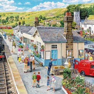 CharlesSimpson.com Village Station - 1000 Piece Jigsaw Puzzle