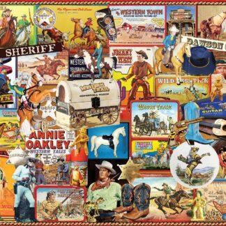 CharlesSimpson.com Cowboys - 1000 Piece Jigsaw Puzzle