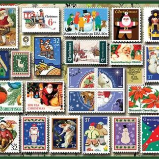 CharlesSimpson.com Holiday Stamps - 550 Piece Jigsaw Puzzle
