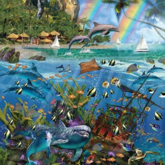 CharlesSimpson.com Tropical Treasures Seek & Find - 1000 Piece Jigsaw Puzzle