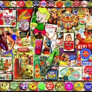 CharlesSimpson.com Soda Pop - 1000 Piece Jigsaw Puzzle