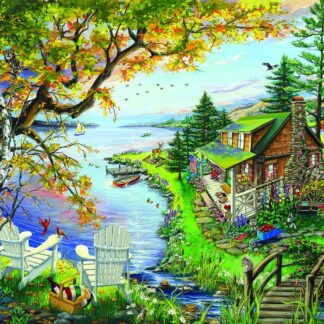 CharlesSimpson.com By The Lake - 1000 Piece Jigsaw Puzzle