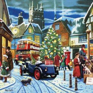 CharlesSimpson.com Christmas Village - 1000 Piece Jigsaw Puzzle
