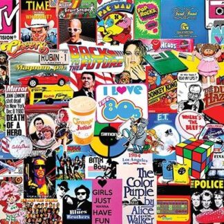 CharlesSimpson.com I Love the 1980's - 1000 Piece Jigsaw Puzzle