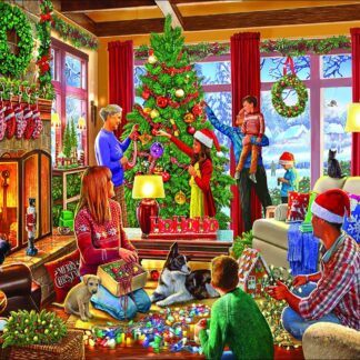 CharlesSimpson.com Decorating The Tree - 1000 Piece Jigsaw Puzzle