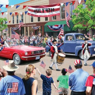 CharlesSimpson.com 4th of July Parade - 1000 Piece Jigsaw Puzzle