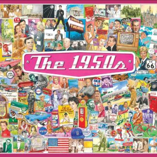 CharlesSimpson.com The 1950's - 1000 Piece Jigsaw Puzzle