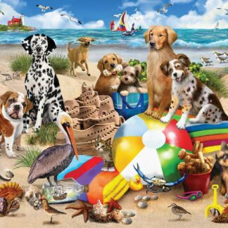 CharlesSimpson.com Beach Buddies - 550 Piece Jigsaw Puzzle