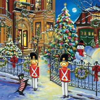 CharlesSimpson.com Holiday House - 1000 Piece Jigsaw Puzzle