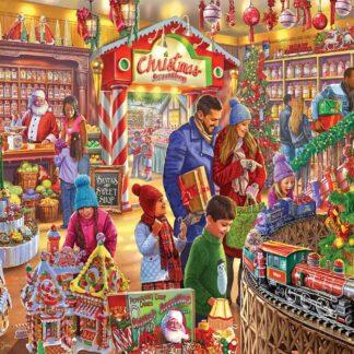 CharlesSimpson.com Christmas Sweetshop - 1000 Piece Jigsaw Puzzle