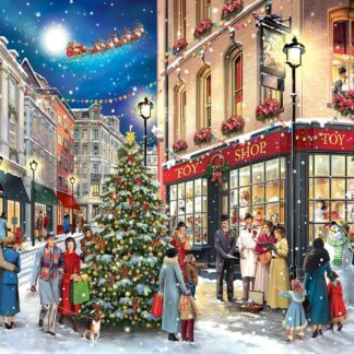 CharlesSimpson.com Christmas Carolers - 1000 Piece Jigsaw Puzzle