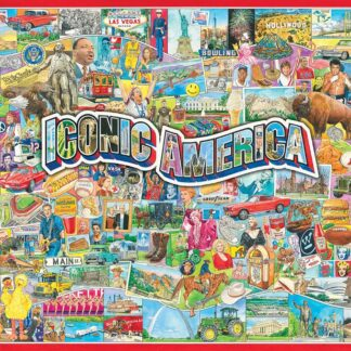 CharlesSimpson.com Iconic America - 1000 Piece Jigsaw Puzzle