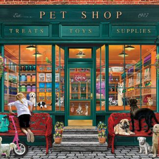 CharlesSimpson.com Local Pet Store - 550 Piece Jigsaw Puzzle