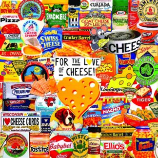 CharlesSimpson.com I Love Cheese - 1000 Piece Jigsaw Puzzle