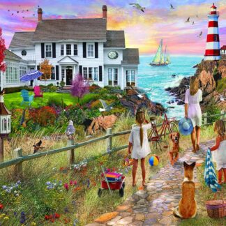 CharlesSimpson.com Beach Path - 1000 Piece Jigsaw Puzzle