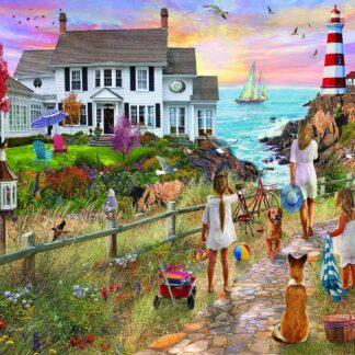 CharlesSimpson.com Beach Path - 1000 Piece Jigsaw Puzzle