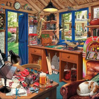 CharlesSimpson.com Dad's Hideaway - 1000 Piece Jigsaw Puzzle