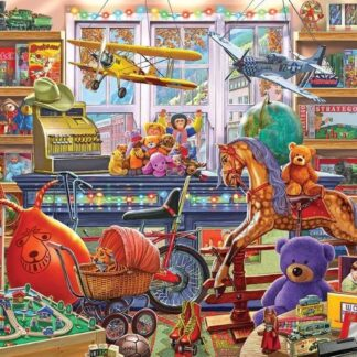 CharlesSimpson.com Toy Shoppe - 550 Piece Jigsaw Puzzle