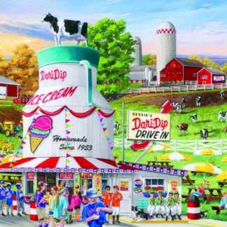 CharlesSimpson.com Dairy Bar - 1000 Piece Jigsaw Puzzle