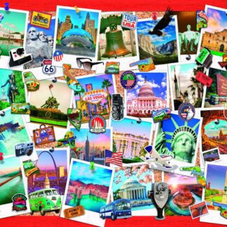CharlesSimpson.com Snapshots of America - 1000 Piece Jigsaw Puzzle