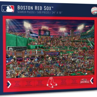 CharlesSimpson.com Boston Red Sox - 500 Piece Jigsaw Puzzle