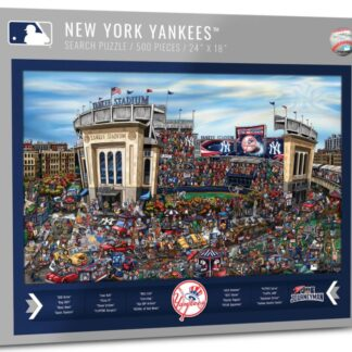 CharlesSimpson.com New York Yankees - 500 Piece Jigsaw Puzzle