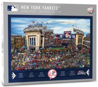 CharlesSimpson.com New York Yankees - 500 Piece Jigsaw Puzzle