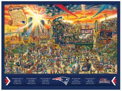 CharlesSimpson.com New England Patriots - Find Joe Journeyman - 500 Piece Jigsaw Puzzle