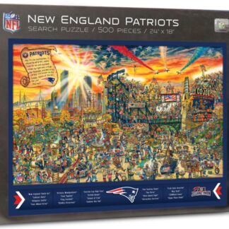 CharlesSimpson.com New England Patriots - Find Joe Journeyman - 500 Piece Jigsaw Puzzle