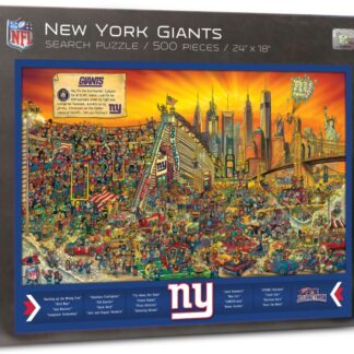CharlesSimpson.com New York Giants - Find Joe Journeyman - 500 Piece Jigsaw Puzzle