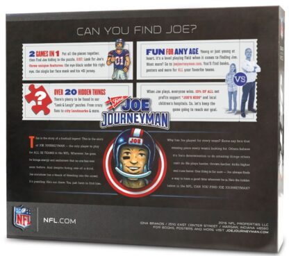 CharlesSimpson.com New York Jets - Find Joe Journeyman - 500 Piece Jigsaw Puzzle