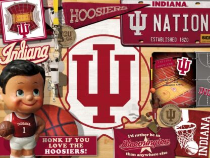 CharlesSimpson.com Indiana Hoosiers - 500 Piece Jigsaw Puzzle