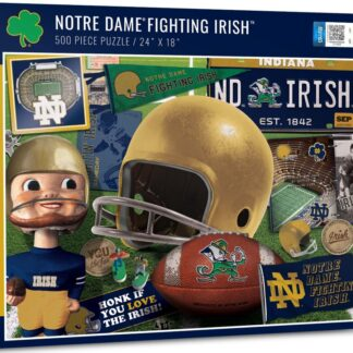 CharlesSimpson.com Notre Dame Fighting Irish - 500 Piece Jigsaw Puzzle