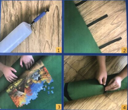 CharlesSimpson.com Puzzle Roll-Up Mat